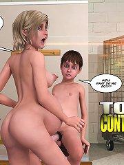 Mad 3d sex comics with pregnant mom seducing young boy