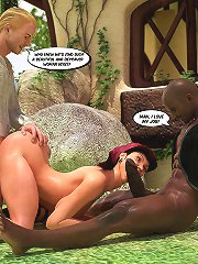 Who knew we'd find such a beautiful and depraved woman on 3d interracial pictures