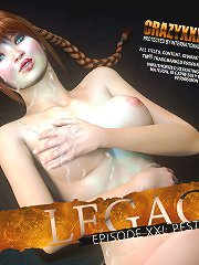 Fantastic 3D erotic comics story showing great blowjob from young babe