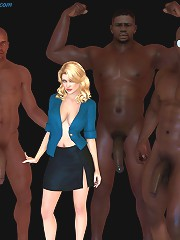 jhon person. Black 3d interracial cartoons