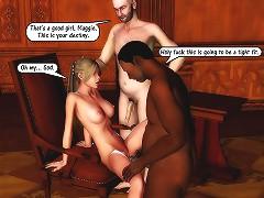 Interracial 3d porn by John Persons