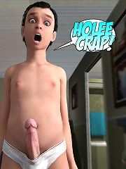Crazy 3d world. Now I am on my knees sucking his cock inside my throat, it is ridiculous!