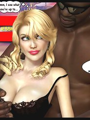 One single nasty blonde within 3d cartoon sex who actually enjoys black moist cocks and muscled african american boys