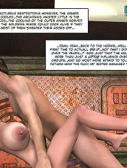 crazy xxx 3d porn about the hot fuck of a space ranger and the girl with huge boobs he rescued