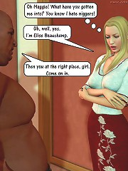 3d sex toons will be able to definitely impress you with this unique blonde and blowjob