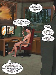 3d porn cartoons. This desire carried over to her real form and her hand slid slowly to her sopping panties