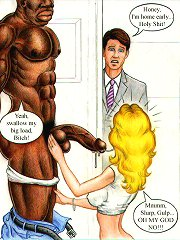 John Persons interracial cartoon fuck
