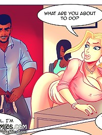 What are you about to do at interracial sex comics? Wait you don't even have a rubber on!