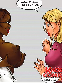 Horny breasty whore does the outcomes of her innovative puffy nipple therapy within interracial cartoons!