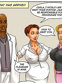 Interracial comics. Look at this amazing dripping large african american schlong fill that fresh trusting wife loaded with warm sperm!