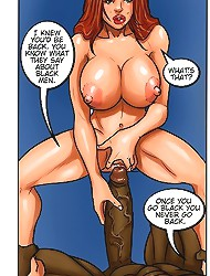 Kaos comics interracial sex cartoon with a sloppy deepthroat and xxx banging