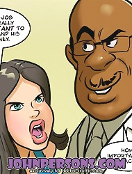 John Persons porn comics where white chicks adore black fellows