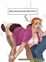 Interracial and Taboo Cartoons and Comics on Poon Net