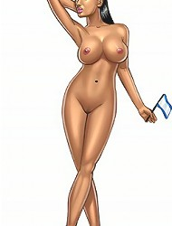 XXX girl cartoons will allow you to check out the best drawn babes