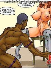 One further matter prior to I tip your pussy at interracial comix. I'd like to buss those mouth