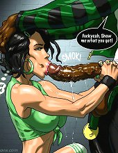 Interracial comics from johnpersons.com