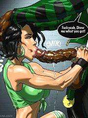 Interracial comics from johnpersons.com
