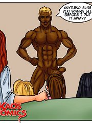 Top interracial porn toons with naughty hotties serving black cocks