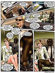 Princess and big black cock interracial cartoon story