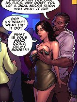 Hottie you great as fuck at these types of interracial toon pictures! What's your hands doing on the knocker?