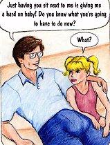 Young daughter doing blowjob incest cartoons