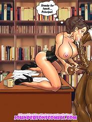 Watch toon girls sucking huge cock in best blowjob cartoons online