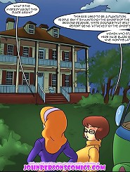 Scooby Doo porn parody comix with horny detectives