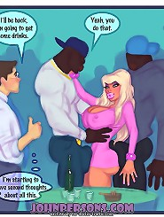 There is plenty of time to tease all these black guys at John Persons cartoons, let's go inside