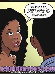 John Persons interracial art will show you hottest sex cartoons