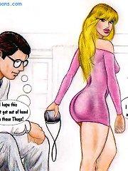 White couple going to Mandingo Club sex comics