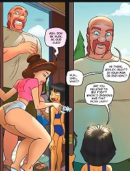 Watch Jab Sex comic full of spectacular babes with alluring shapes