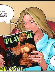 Going up itchiness between the woman's legs that she cannot to tease located on xxx comics