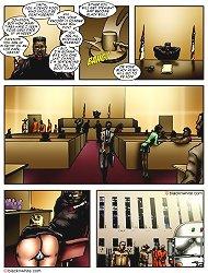 Black cocks in army military interracial comics