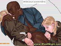 Fetish Interracial and Taboo Cartoons and Comics on Erotic Comics!