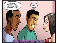 interracial John Person cartoons with tremendous variety of sex scenes