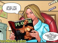 Increasing urge between the girl's hips that she cannot to tease on xxx comics