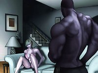 Lessons from the neighbor. An illustrated interracial story