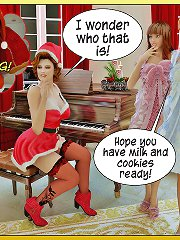 3d adult comics with wonderful teens that fucked at christmas
