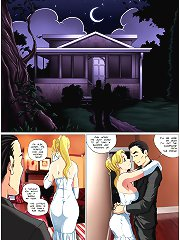Monster Wedding Night erotic toons