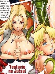 Jiggly Girls. Hentai tentacle rape two cute cartoon girls