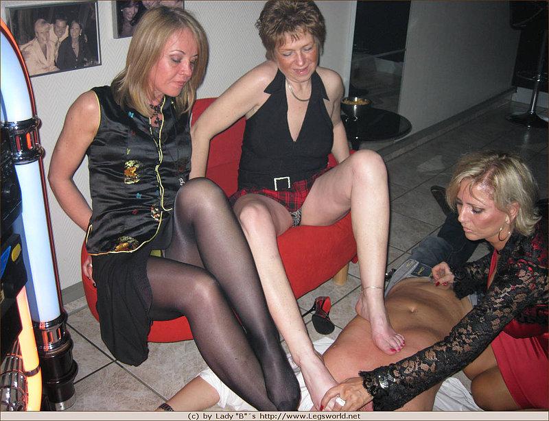 Heels and hose fetish