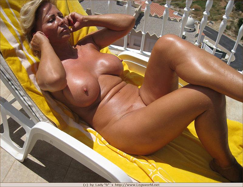 Really. And Mature nude sunbathing mom agree
