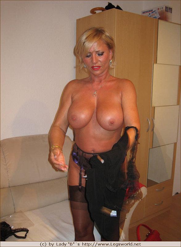 Lady barbara nylon mature sex