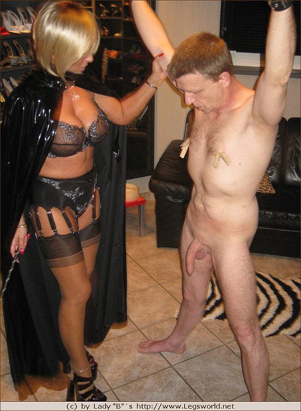 Hot bbw german mistress angeika dominates