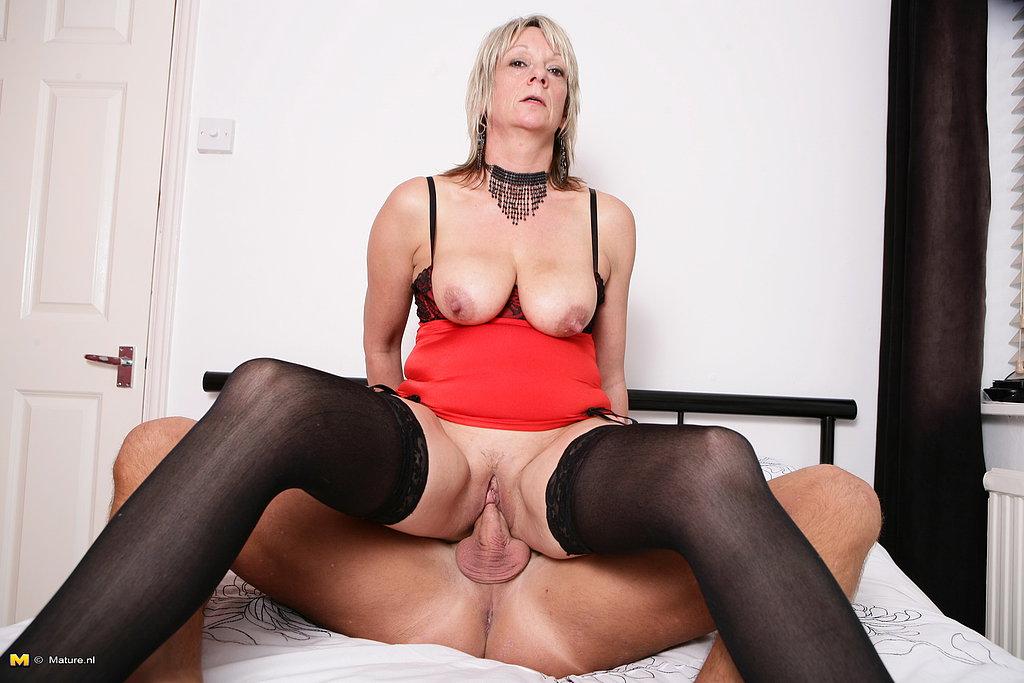 Horny british mature
