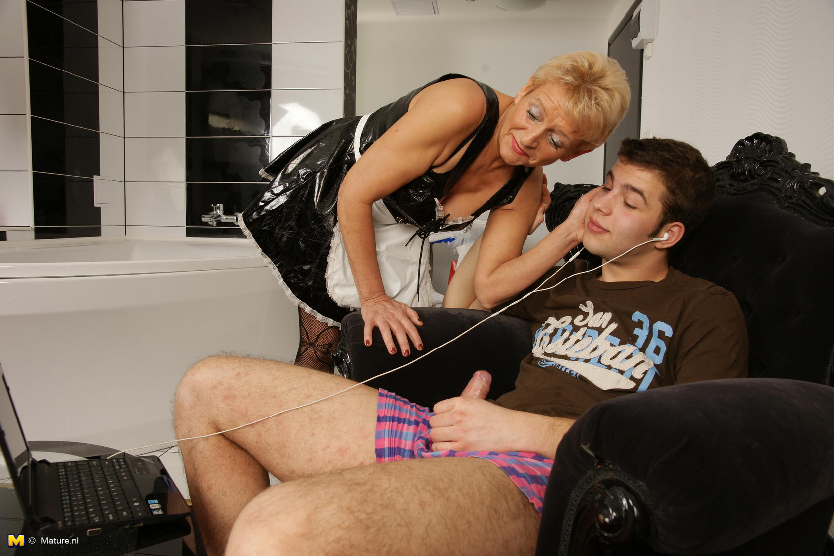 toy Granny cougar boy and