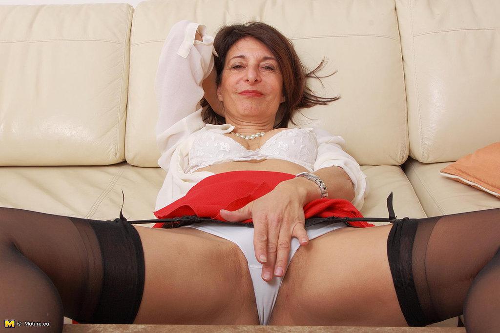 Granny big tits free