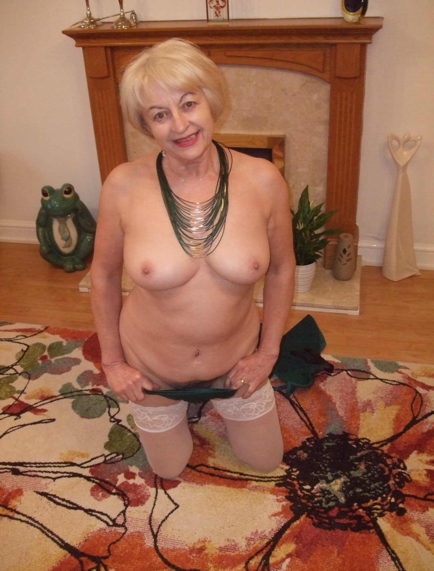 Opinion you older grannies nude think