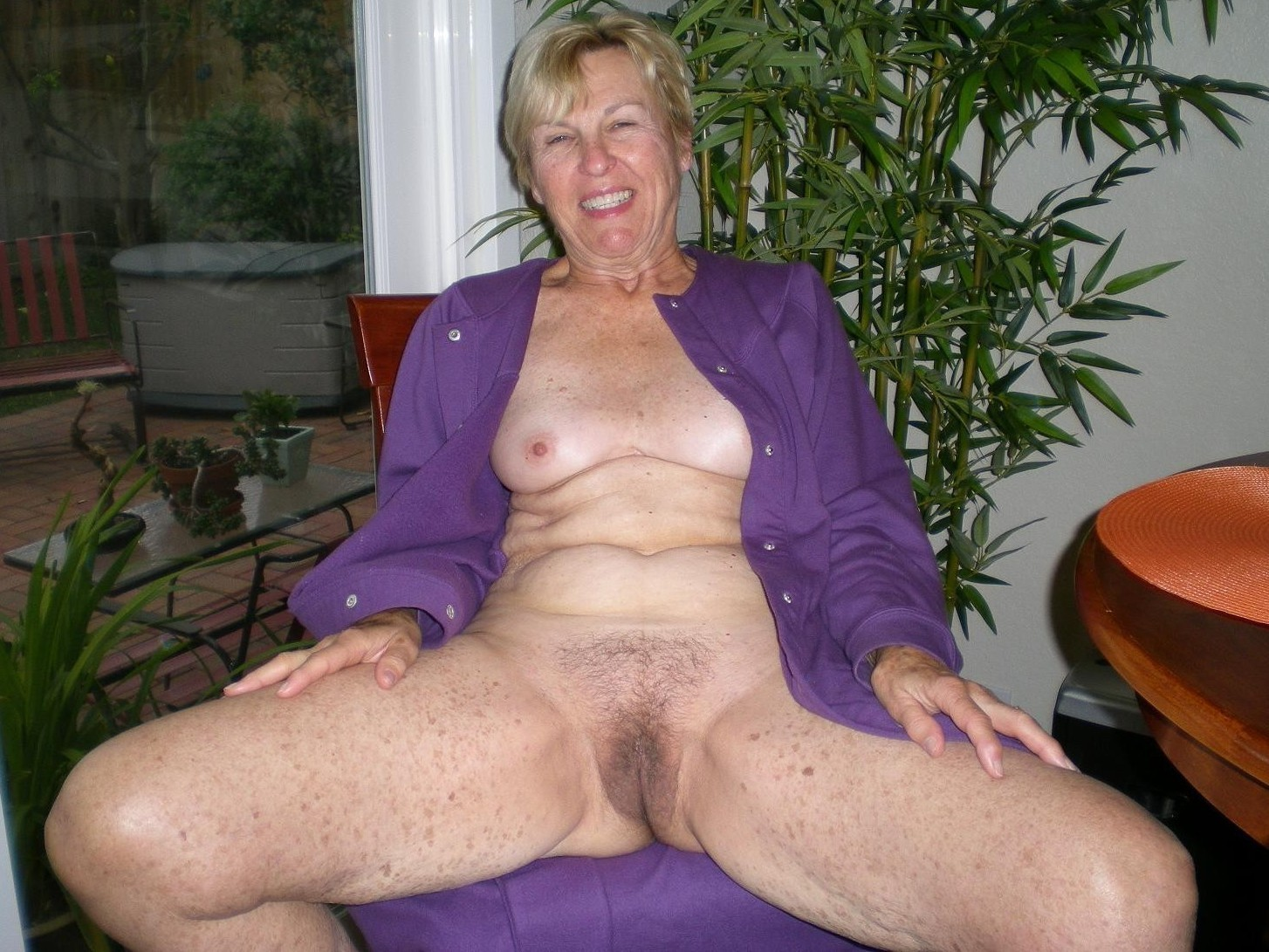 Granny self pics mature