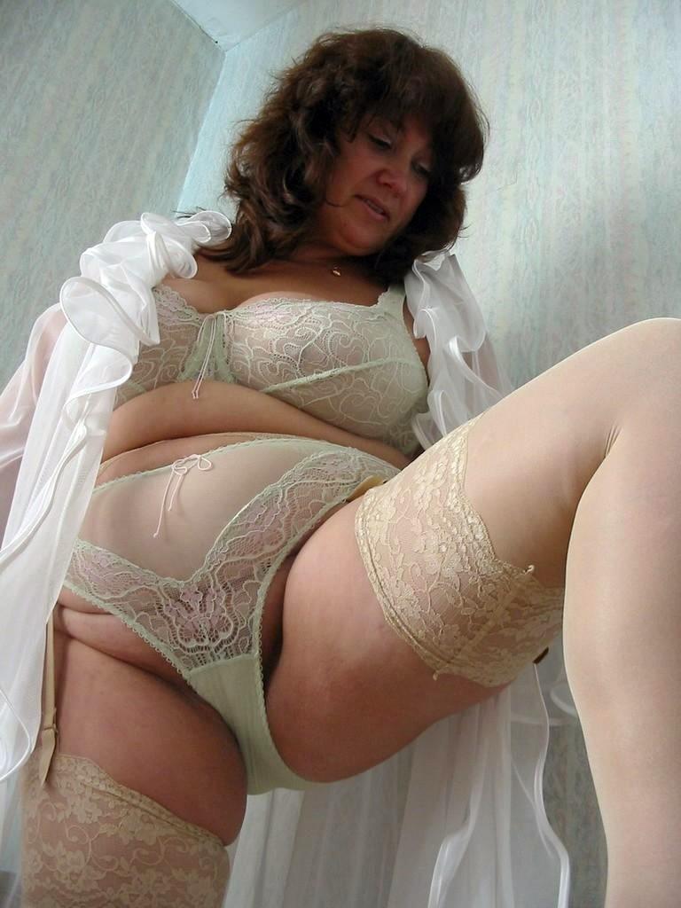 Mature lingerie german